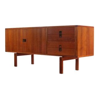 Mid Century Modern Lennart Bender of Sweden Teak Sideboard or Credenza, Sweden For Sale