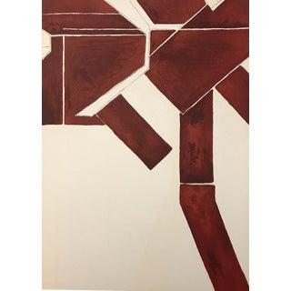 Original Pablo Palazuelo Lithograph, Untitled For Sale