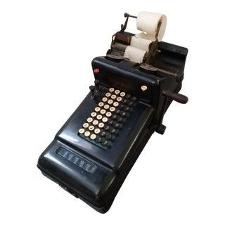 Vintage Burroughs Typewriter For Sale