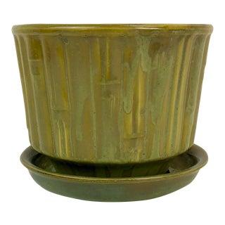McCoy Ceramic Bamboo Planter For Sale