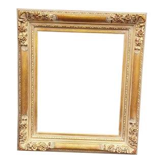 Baroque Floral Gold Wash Finished Picture Frame/Mirror Frame