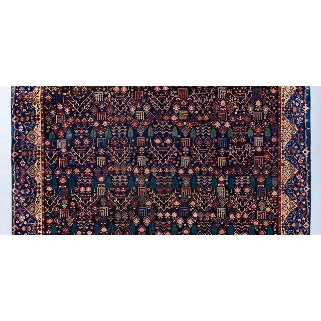 Traditional Blue Ground Oversized Bakhtiari Carpet For Sale - Image 3 of 6