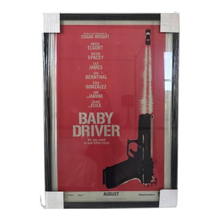 Baby Driver Framed Movie Poster