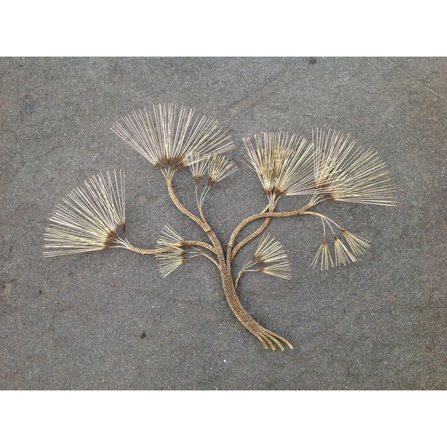 Curtis Jere Vintage Brass Tree - Image 2 of 11