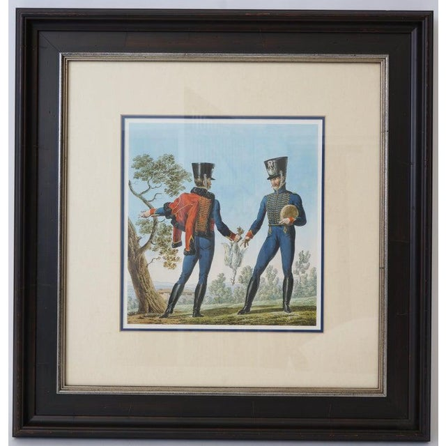 Vintage 1800's Style French Military Soldier Prints - a Set of 6 For Sale In West Palm - Image 6 of 13