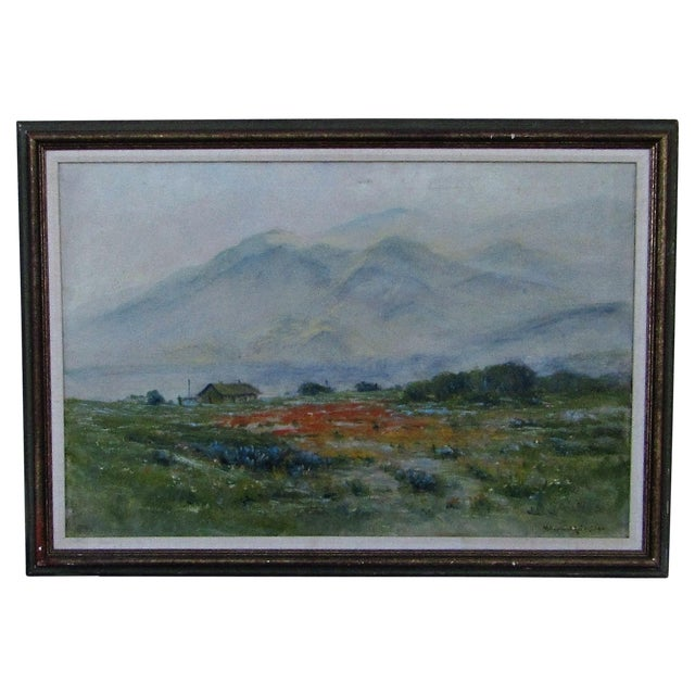 Antique Original Landscape by Maxwell Robertson - Image 1 of 7