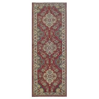 Vintage Persian Tabriz Rug - 3′2″ × 11′ For Sale