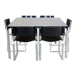 Exclusive Pierre Mazairac Dining Set for Pastoe, 1970s