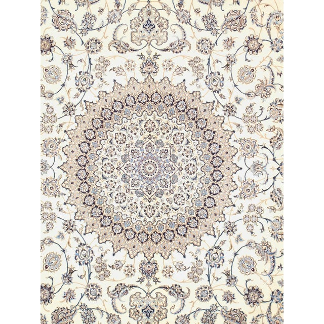 Nain rugs are distinguished by their excellent weave and by their remarkable adherence to the classical traditions of The...