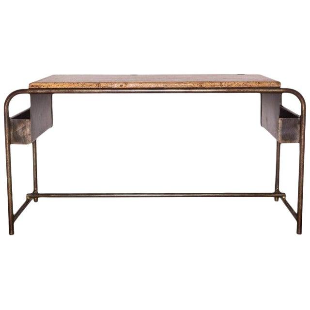 1930's Belgian School Desk For Sale