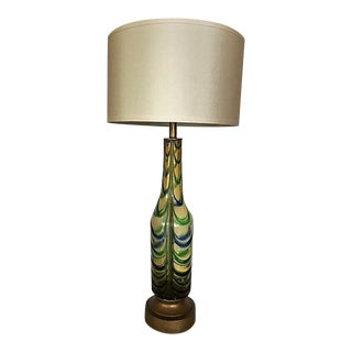 1950's Seguso Glass Table Lamp