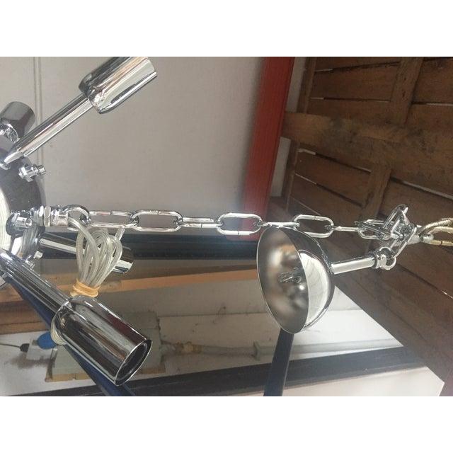 Black Murano Glass Sputnik Chandelier For Sale - Image 8 of 8