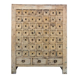 Early 1900's Chinese 52-Drawer Apothecary Cabinet For Sale