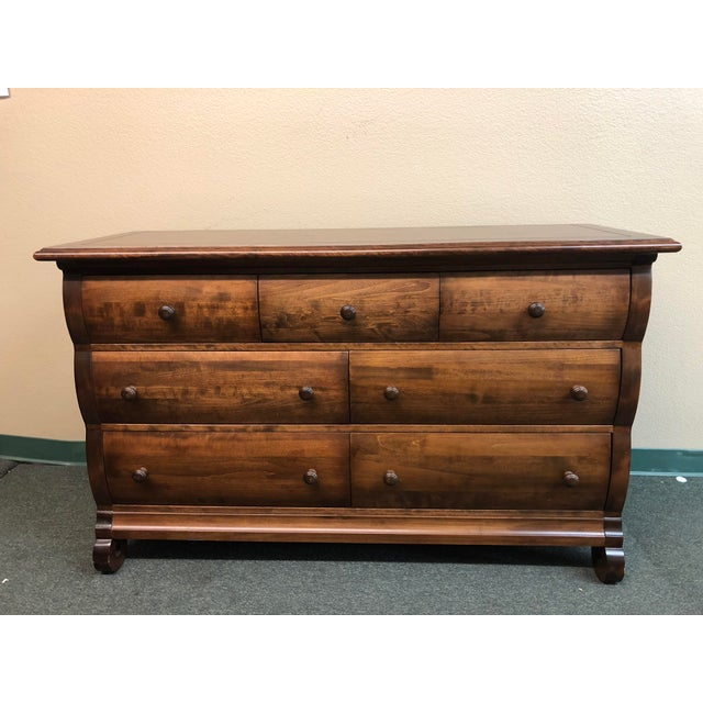Traditional Capretti Designs 7-Drawer Dresser For Sale - Image 11 of 11