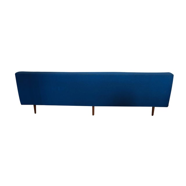 Blue Milo Baughman for Thayer Coggin Mid Century Modern Sofa For Sale - Image 8 of 10