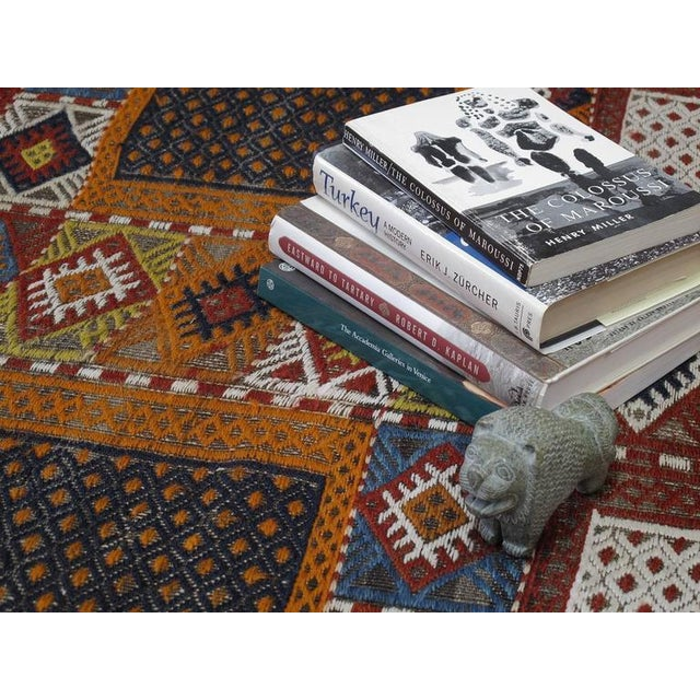 """Southeast Anatolian """"Jijim,"""" Long Rug For Sale In New York - Image 6 of 9"""