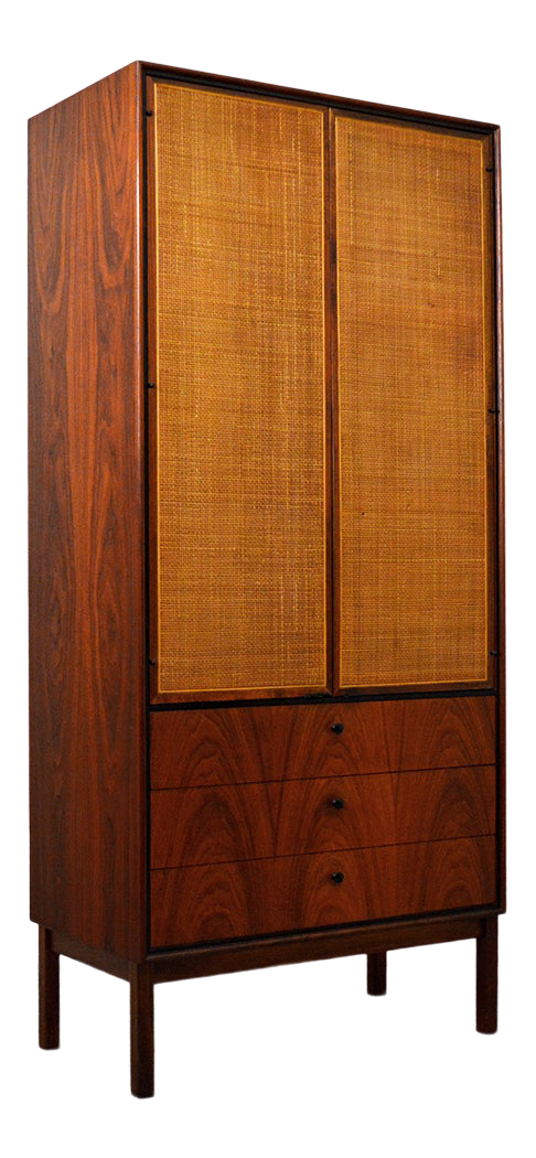 Incroyable Mid Century Jack Cartwright For Founderu0027s Furniture Walnut Armoire
