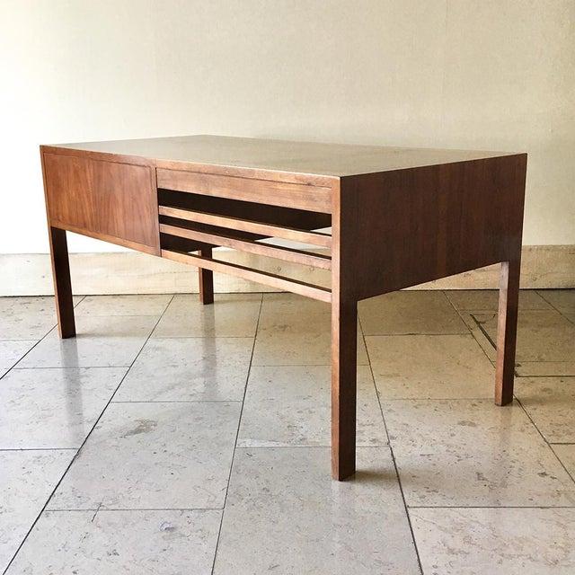 Mid-Century Modern A Walnut Desk by Baker 1960s For Sale - Image 3 of 6