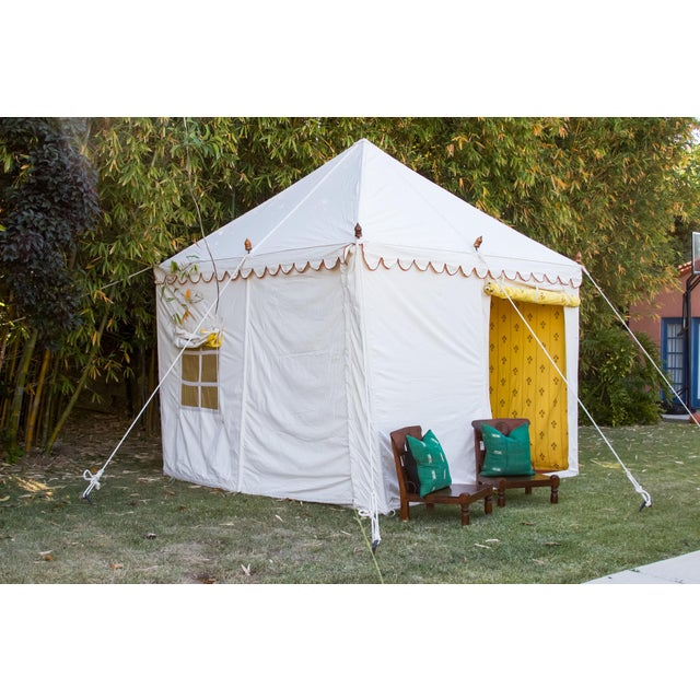 1990s Contemporary Maharani Garden Tent For Sale - Image 5 of 13
