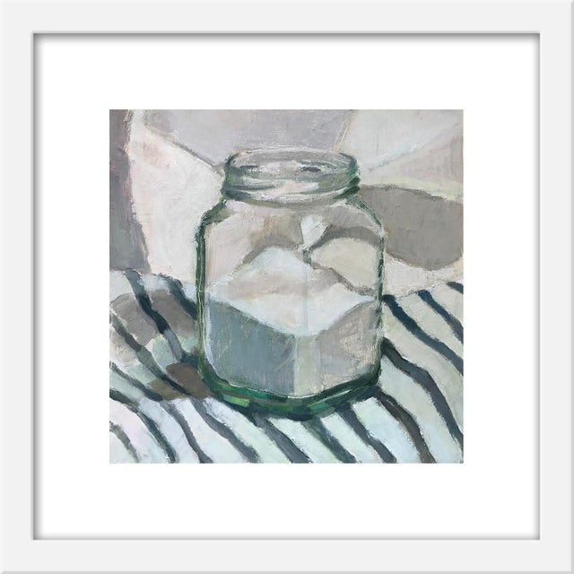 """Contemporary Small """"Sugar Jar on Stripes"""" Print by Caitlin Winner, 15"""" X 15"""" For Sale - Image 3 of 3"""