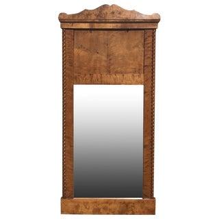 Fruitwood Biedermeier Mirror, 1820s