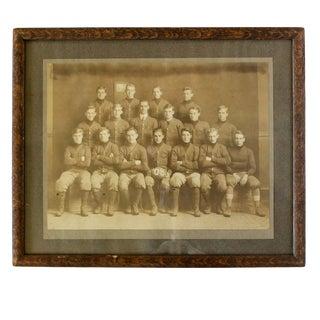 Antique Antique Football Team Portrait For Sale