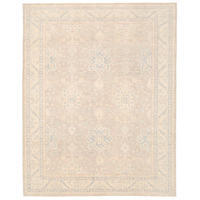 """Pasargad Ferehan Wool Rug - 9' 2"""" X 11' 10"""" For Sale"""