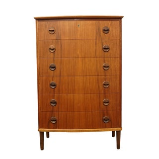 "Original Danish Mid Century Teak Dresser - ""Gelsted"""