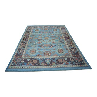 Turkish Anatolian Modern & Decorative Oushak Rug - 10′3″ × 13′6″