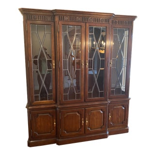Traditional Century Furniture China Cabinet For Sale