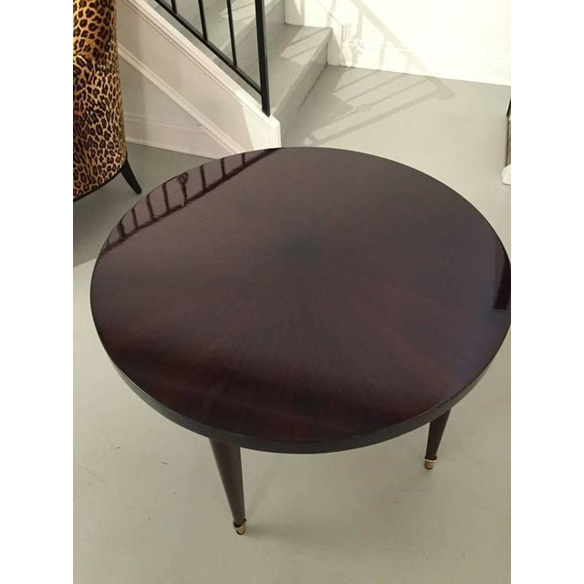 French Art Deco Round Occasional Table For Sale In New York - Image 6 of 6
