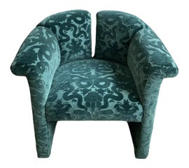 Image of Newly Made Velvet Accent Chairs