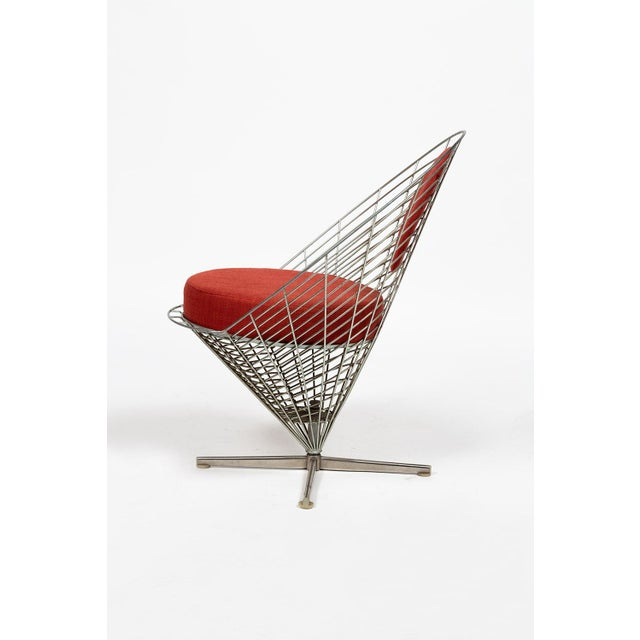 Plus-Linje Vire Cone Chair by Verner Panton For Sale - Image 4 of 11