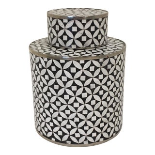 Contemporary Decorative Cloisonné Jar For Sale
