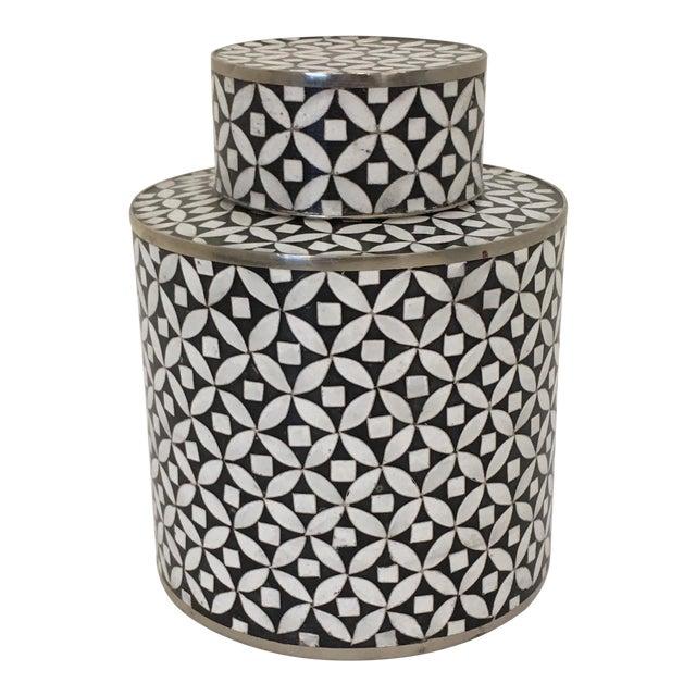 Contemporary Decorative Cloisonné Jar For Sale