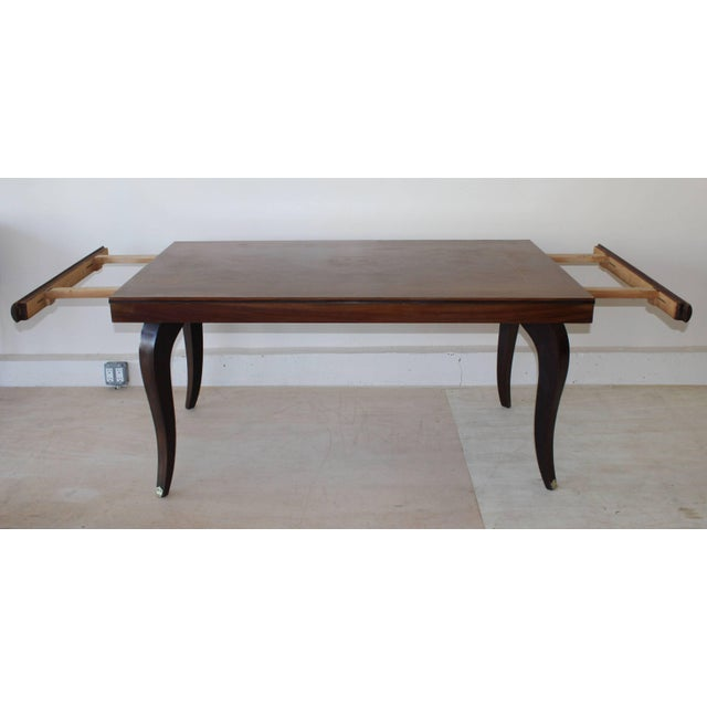 Mid-Century Modern French Dining Table For Sale - Image 3 of 7