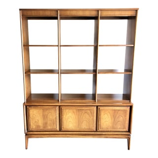 1950s Mid Century Modern Wall Unit / Room Divider For Sale