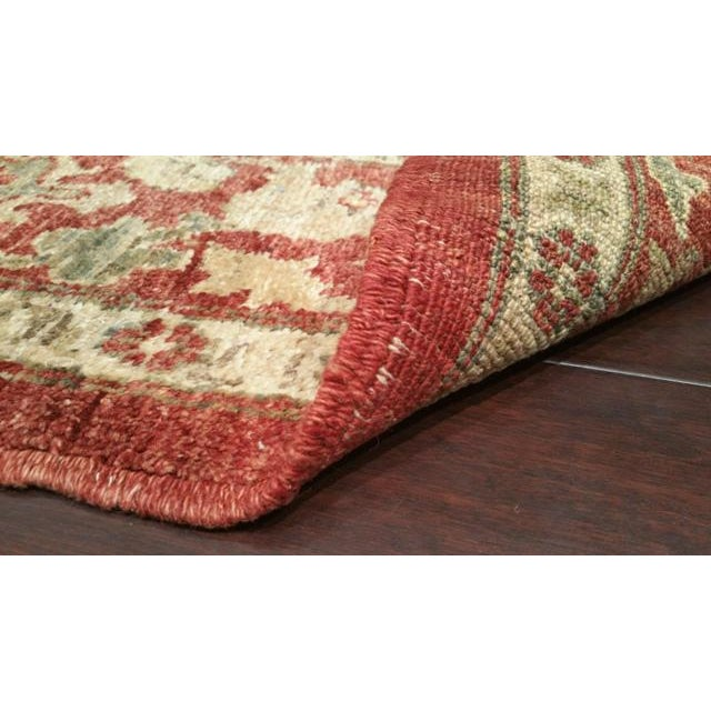 Vintage 13 Ft. Traditional Hand Made Knotted Wide Runner Rug - 6′ × 13′5″ - Image 2 of 2