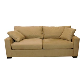 Crate Barrel Axis II 2 Seat Living Room Sofa
