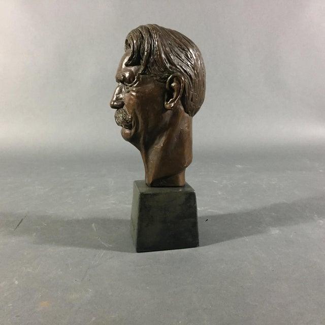 Bronze Sculpture of Nobel Winner Albert Schweitzer, 1955 For Sale In New York - Image 6 of 10