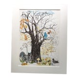 Image of 1961 Mid-Century Classroom Teaching Poster In Fall For Sale