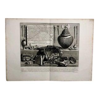 "Piranesi Engraving of ""Antiquita Romana"" For Sale"