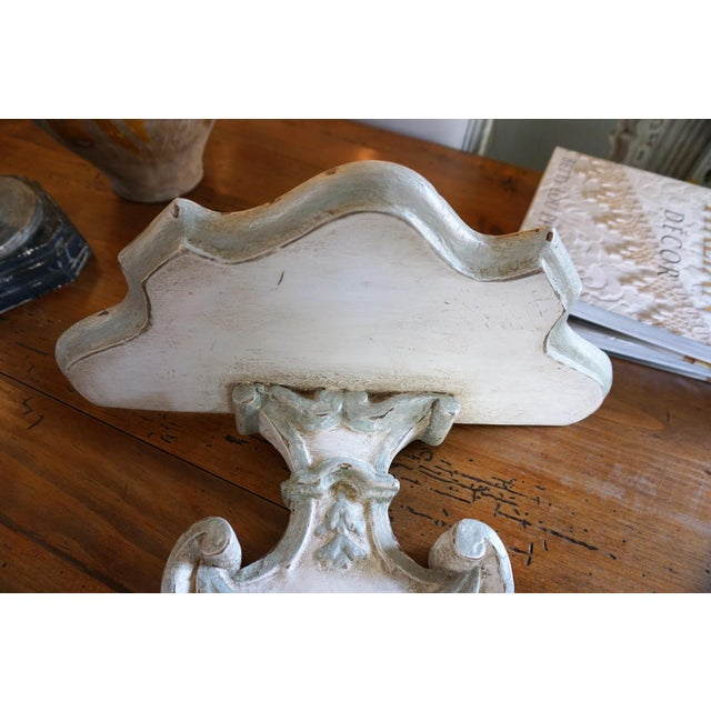 Pair of 18th Century Wall Brackets For Sale In New Orleans - Image 6 of 11