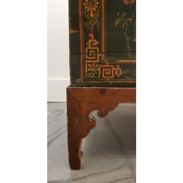 Chinese Trunk on Stand For Sale - Image 12 of 13