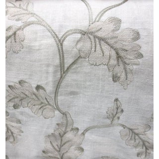 Bressana Embroidered Vine Fabric For Sale