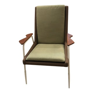 Modernist Style Chair With Arms For Sale