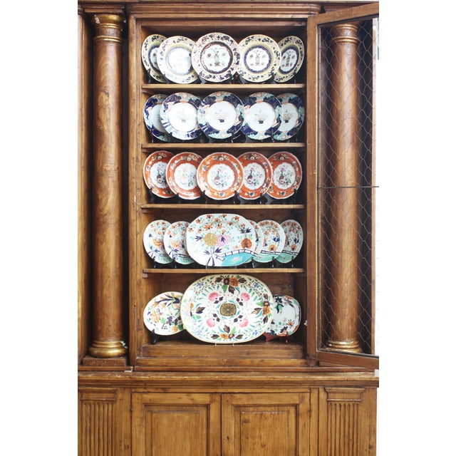 Substantial and Well-Appointed English Bookcase or China Cabinet - Image 3 of 6