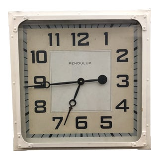 Pendulux Gas Station Clock For Sale