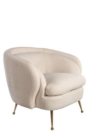 Image of Bouclé Accent Chairs