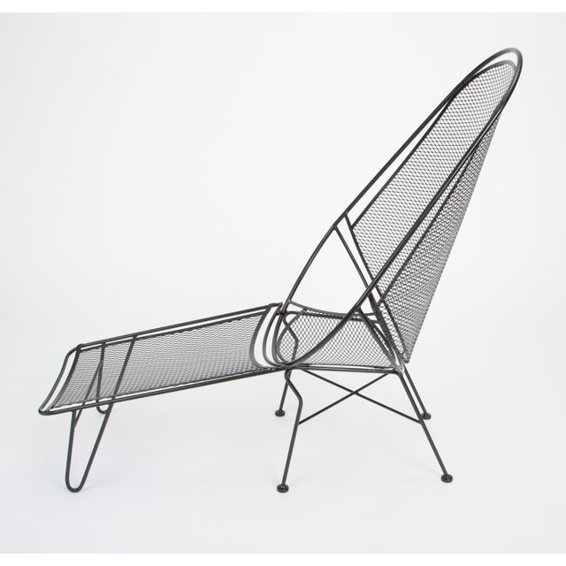 Scoop Lounge Chair With Ottoman by Maurizio Tempestini for Salterini For Sale In Los Angeles - Image 6 of 13